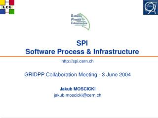 SPI  Software Process  Infrastructure