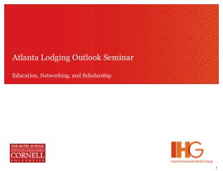 Atlanta Lodging Outlook Seminar