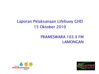 PRAMESWARA 103.9 FM LAMONGAN