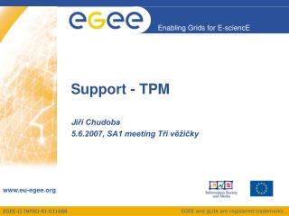 Support - TPM