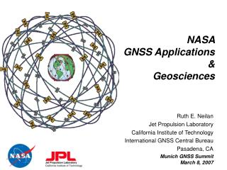 NASA  GNSS Applications  &  Geosciences
