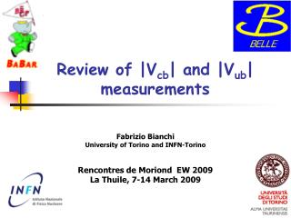 Review of |V cb | and |V ub | measurements