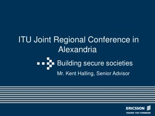 ITU Joint Regional Conference in Alexandria