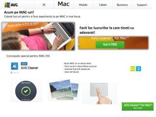 Acum pe  MAC- uri ! Cateva lucruri pentru  a face  experianta ta pe  MAC  si mai buna