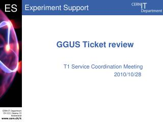 GGUS Ticket review