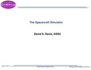 The Spacecraft Simulator