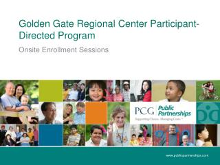 Golden Gate Regional Center Participant-Directed Program