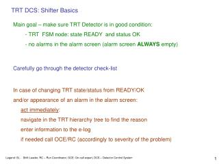 TRT DCS: Shifter Basics
