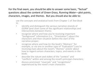 use the concepts and analytical tools from Chapter 1 of  Text Book  to