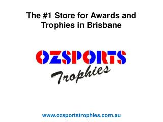 Most Popular Awards and Trophy Store in Brisbane