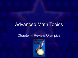 Advanced Math Topics