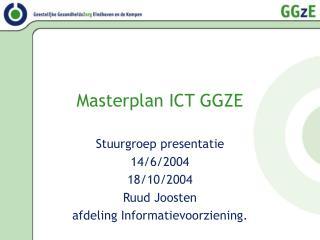 Masterplan ICT GGZE