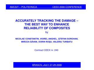 AMCSIT – POLITEHNICA                        CEEX 2008 CONFERENCE