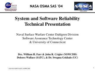 NASA OSMA SAS '04