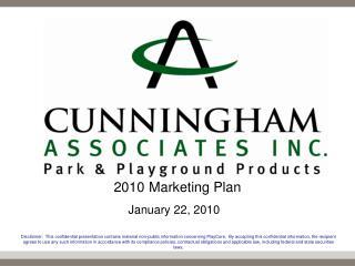 2010 Marketing Plan