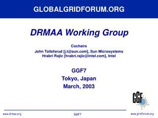 GLOBALGRIDFORUM.ORG