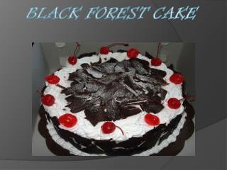 Cara membuat Blackforest