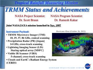 Tropical Rainfall Measuring Mission