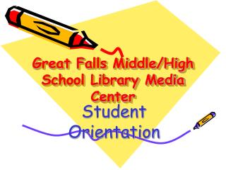 Great Falls Middle/High School Library Media Center
