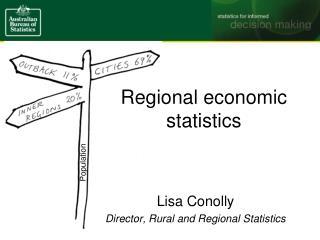 Regional economic  statistics