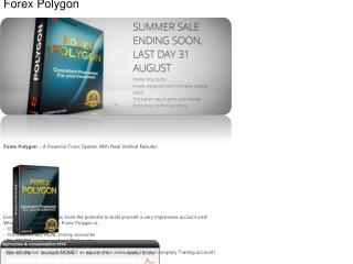 Forex Polygon – A Powerful Forex System With Real Verified R