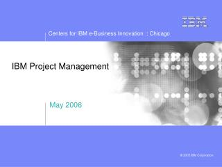 IBM Project Management