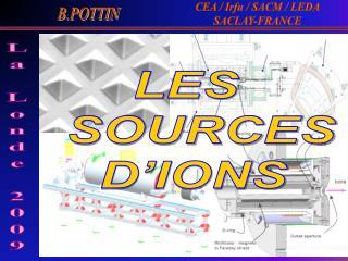 LES   SOURCES D'IONS