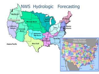 NWS  Hydrologic   Forecasting
