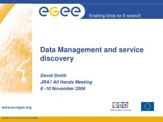 Data Management and service discovery