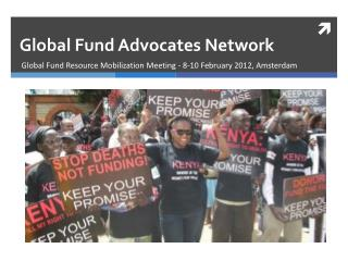 Global Fund Advocates Network