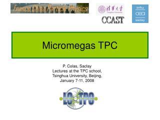 Micromegas TPC