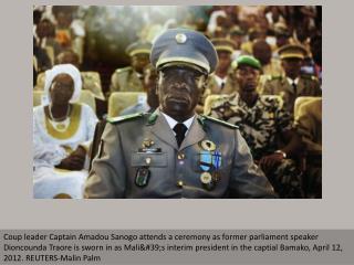 Coup d'etat in Mali
