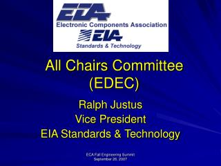 All Chairs Committee (EDEC)