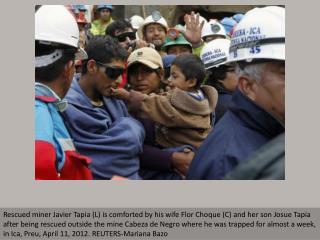 Mine rescue in Peru
