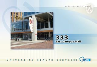 UW-Madison  Student Health Insurance Plan