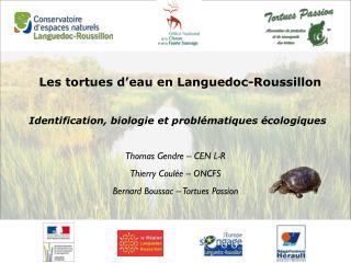 Les tortues d�eau en Languedoc-Roussillon