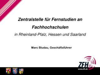 Zentralstelle für Fernstudien an  Fachhochschulen in Rheinland-Pfalz, Hessen und Saarland