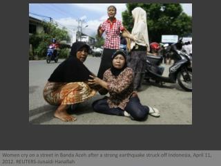 Tsunami scare