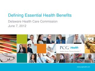 Defining Essential Health Benefits