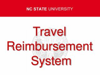 Travel  Reimbursement  System