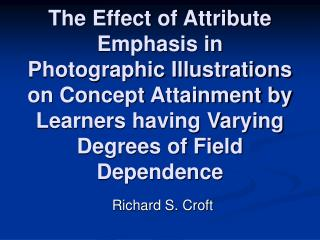 Richard S. Croft