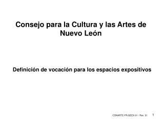 Consejo para la Cultura y las Artes de Nuevo León