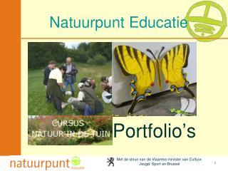 Natuurpunt Educatie