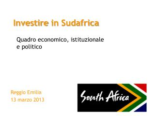Investire  in  Sudafrica