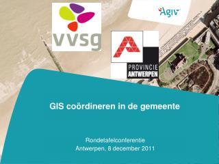GIS coördineren in de gemeente