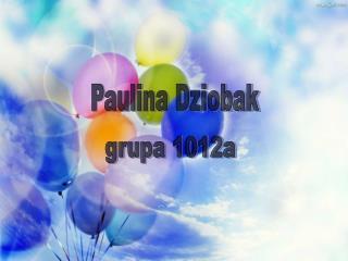 Paulina Dziobak