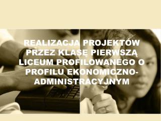 Projekt dla życia zawodowego