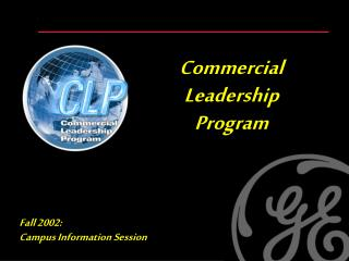 Commercial     Leadership    Program