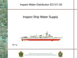 Inspect Water Distribution EO 011.02