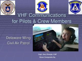 VHF Communications for Pilots & Crew Members